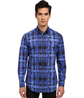Vivienne Westwood - Crystallized Tartan Button Up