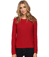 Lacoste - Long Sleeve Lurex Crew Neck Sweater