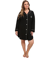 LAUREN by Ralph Lauren - Plus Size Hammond Knits Sleepshirt