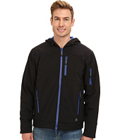 Roper - Softshell Fleece Insulated Jacket w/ Hood