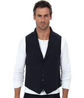 John Varvatos Star U.S.A. - Five Button Peak Vest w/ Wire Edges JVV090B