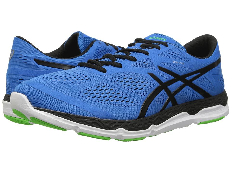 ASICS 33 FA Blue/Black/Flash Green Mens Running Shoes