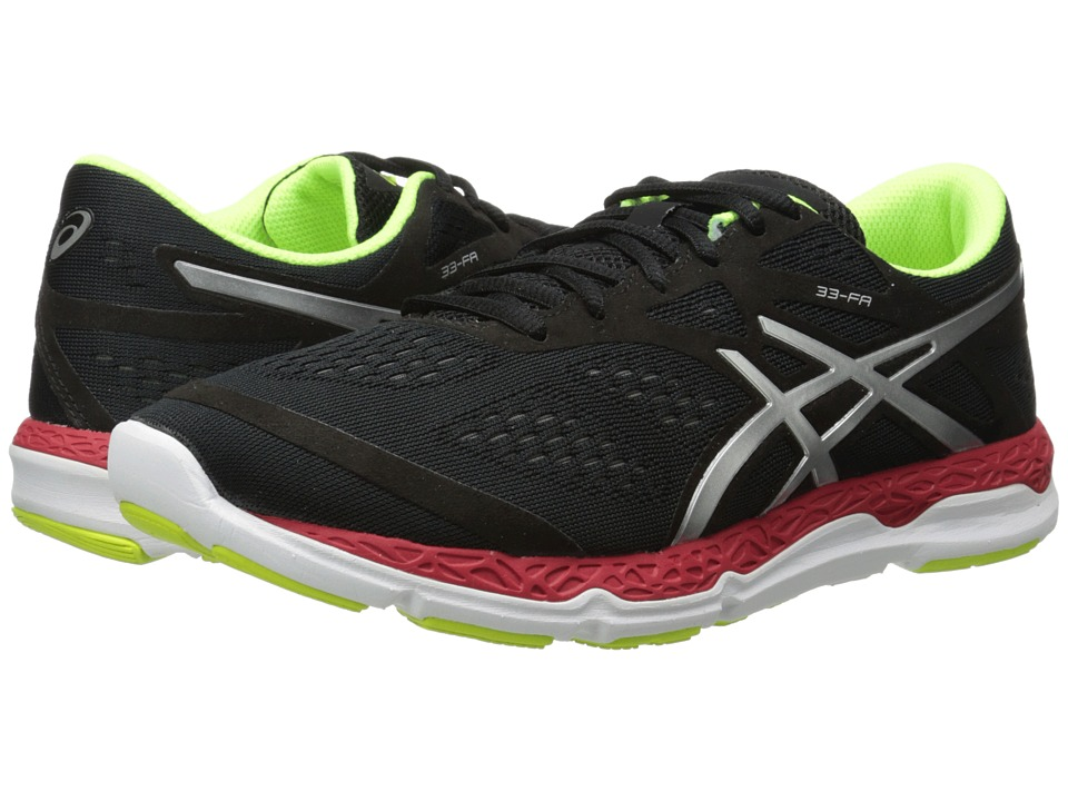 ASICS - 33-FA (Onyx/Flash Yellow/Chinese Red) Men