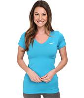 Nike - Pro S/S V-Neck Top