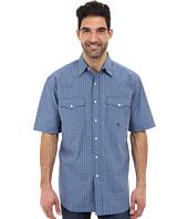 Roper - Summer Mini Check Snap S/S Shirt