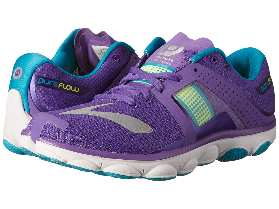 PureFlow 4 (Electric Purple/Nightlife/Peacoat) Women s Running Shoes