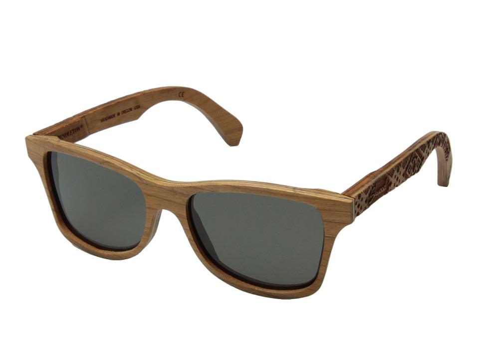 Shwood Canby Pendleton Collection Pendleton/Cherry/Journey West Fashion Sunglasses