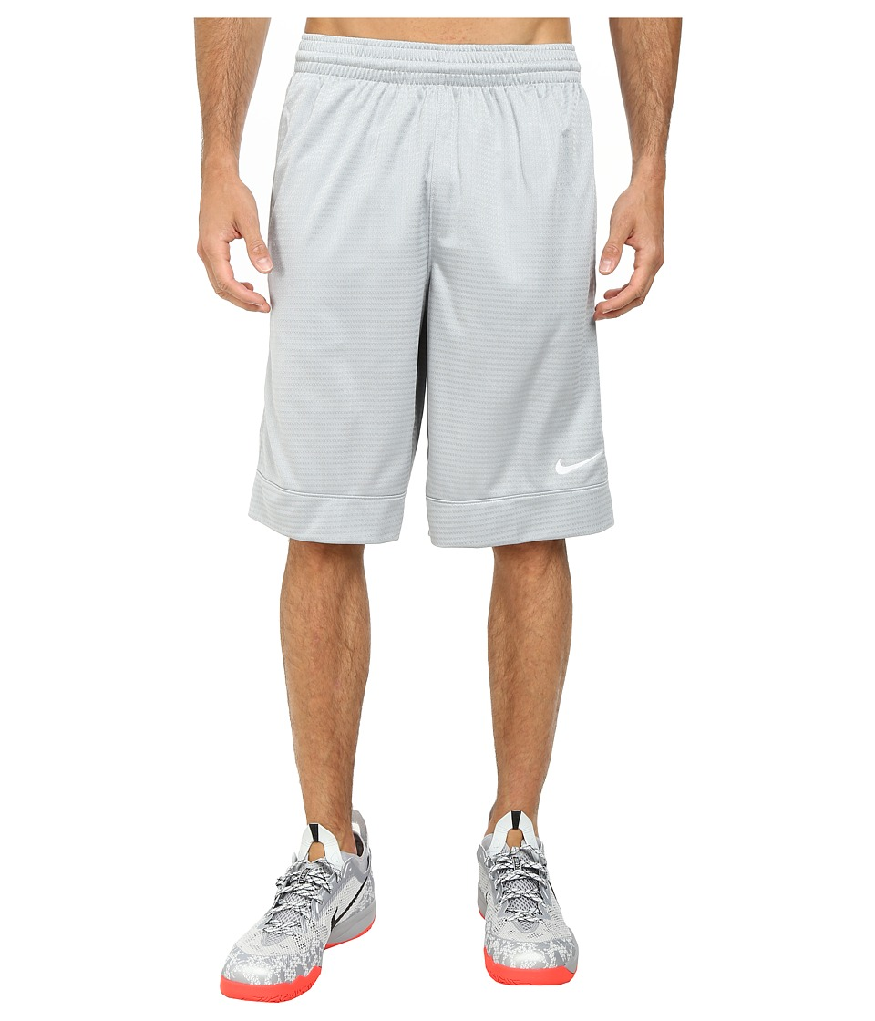 Nike Fastbreak Short (Wolf Grey/Wolf Grey/Wolf Grey/White) Men
