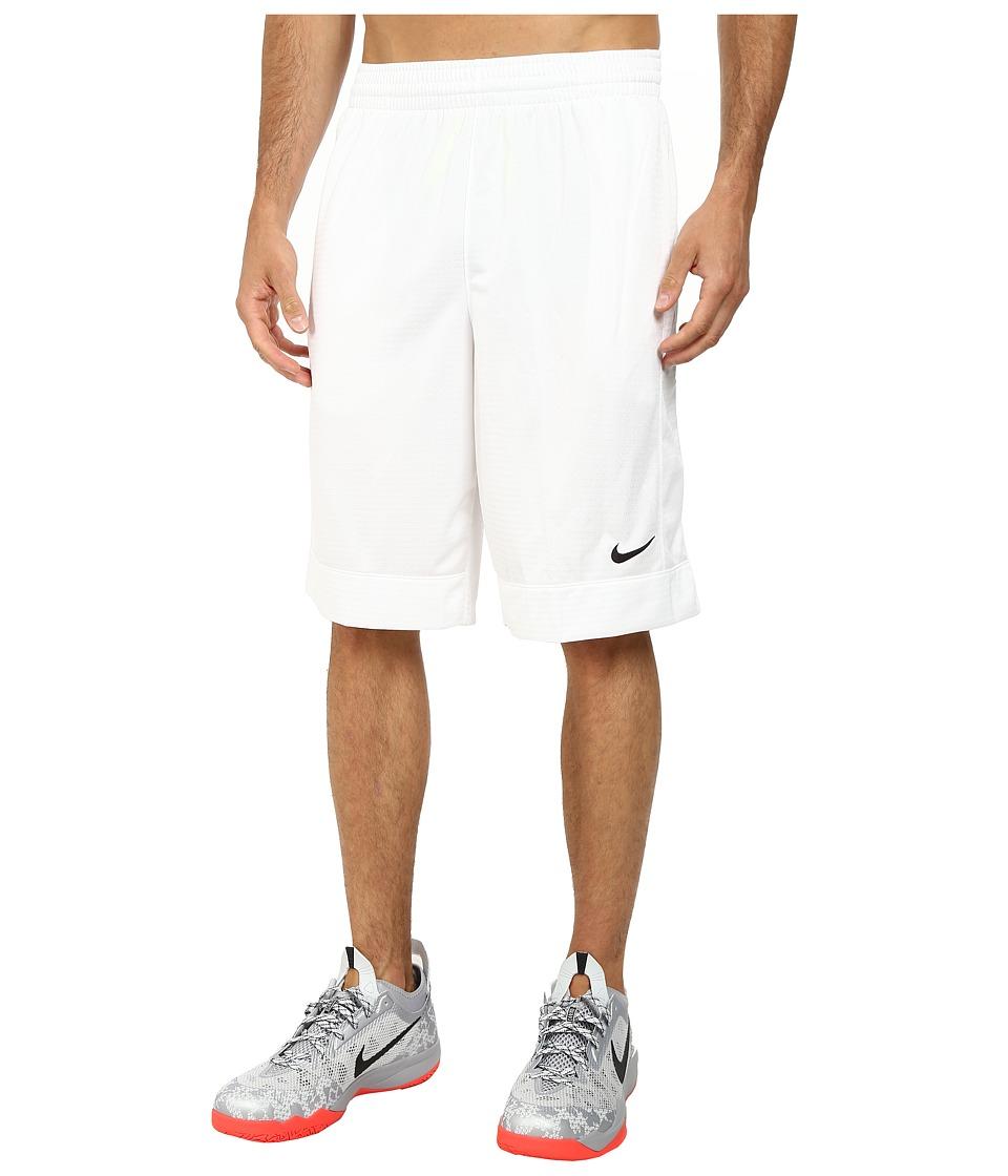 Nike Fastbreak Short (White/White/White/Black) Men