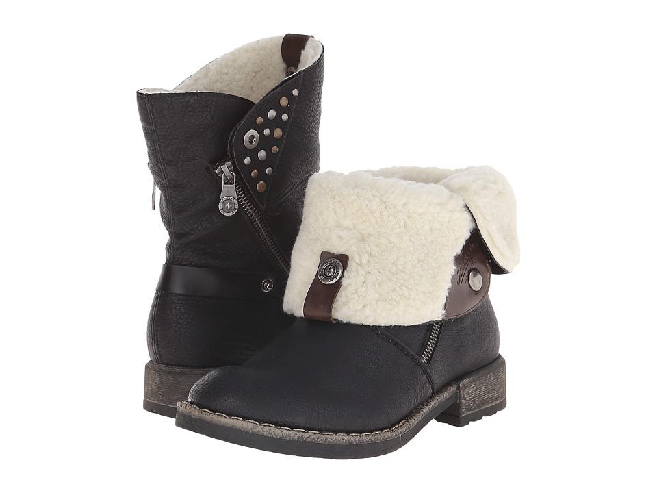Rieker - 74689 Peggy 89 (Schwarz) Womens Boots