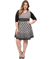 NIC+ZOE - Plus Size Half Moon Twirl Dress