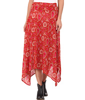 Roper - 9230 Folk Floral Printed Challis Skirt