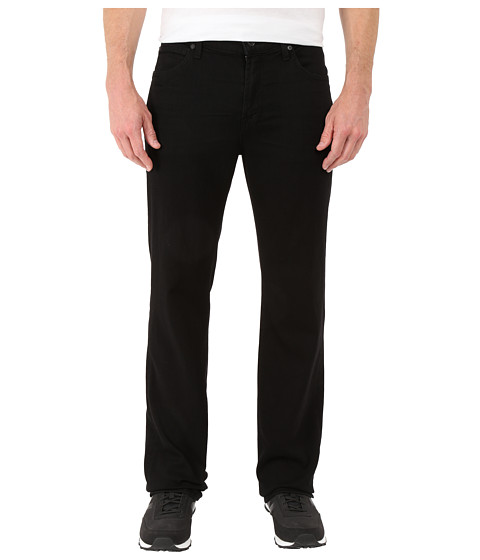 7 For All Mankind Luxe Performance Austyn Relaxed Straight in Nightshade Black