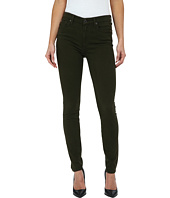 7 For All Mankind - Mid Rise Skinny w/ Contour Waistband in Brushed Sateen