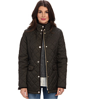 Nautica - Faux Shearling Funnel-Neck Quilted Coat EQ820319