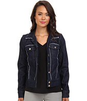 7 For All Mankind - Raw Edge Denim Jacket in Raw Edge Denim