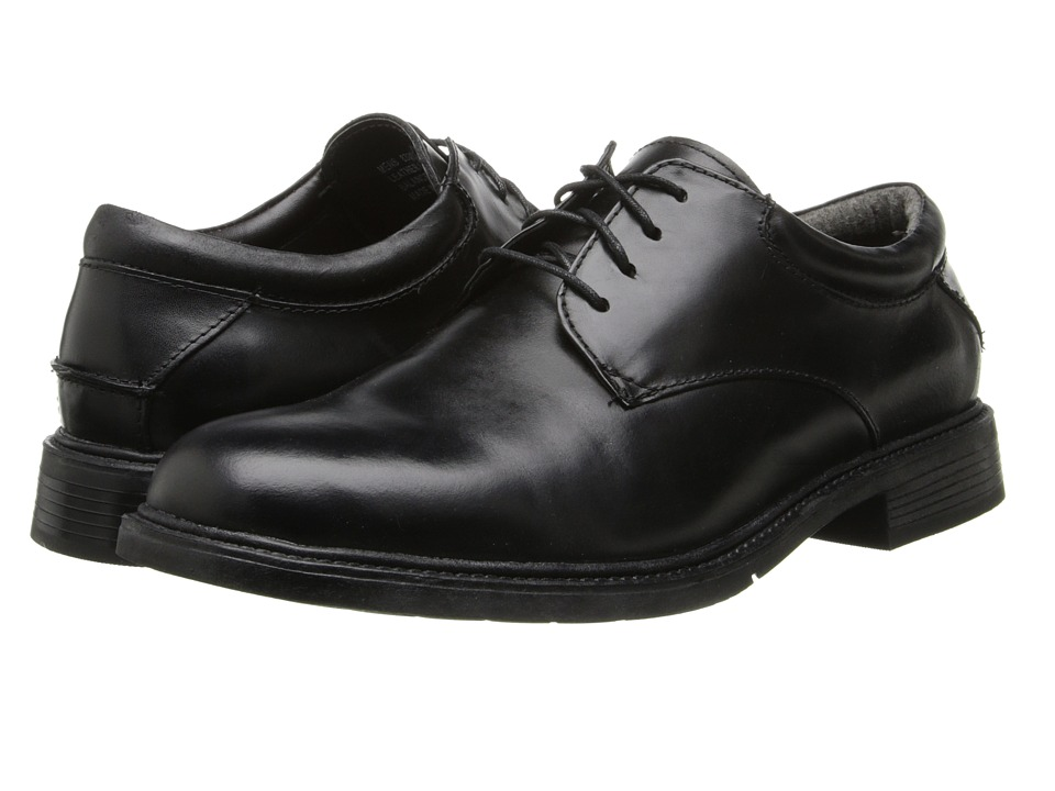 Nunn Bush Maury Plain Toe Oxford Lace-Up (Black) Men