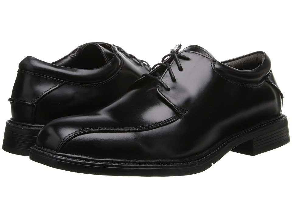 Nunn Bush - Marcell Bicycle Toe Oxford (Black) Mens Shoes