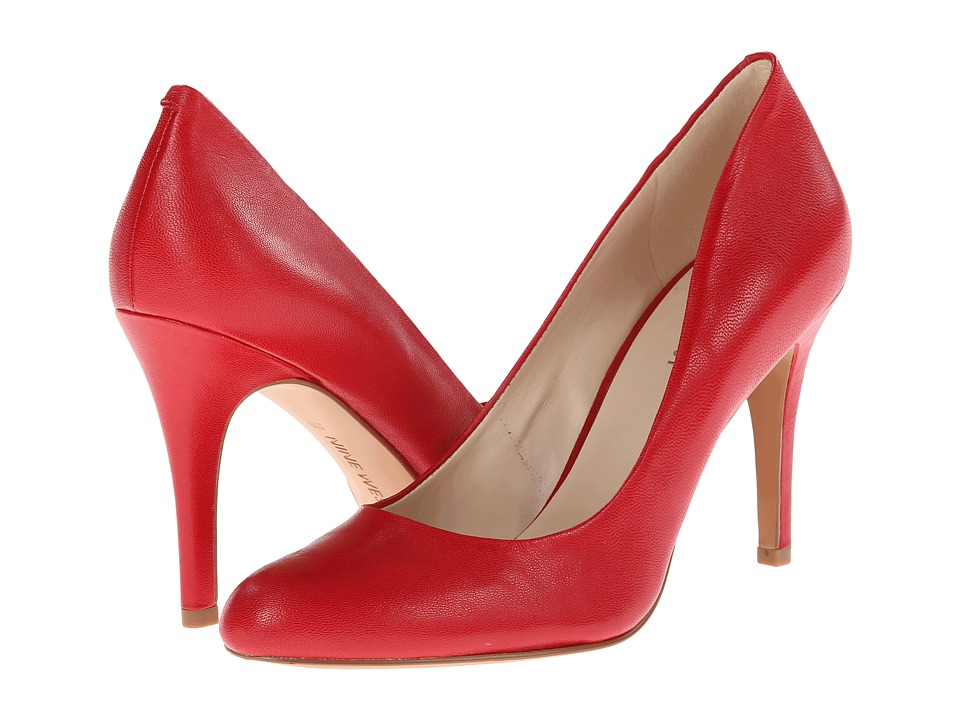 Nine West Gohawk (Red Leather) High Heels