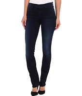 7 For All Mankind - The Modern Straight in Slim Illusion Second Skin Washed Dark