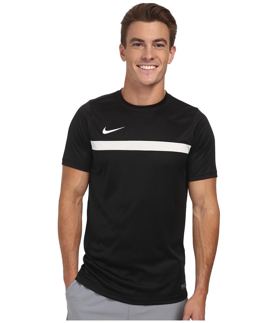 Nike Academy S/S Training Top 1 (Black/White/Black/White) Men