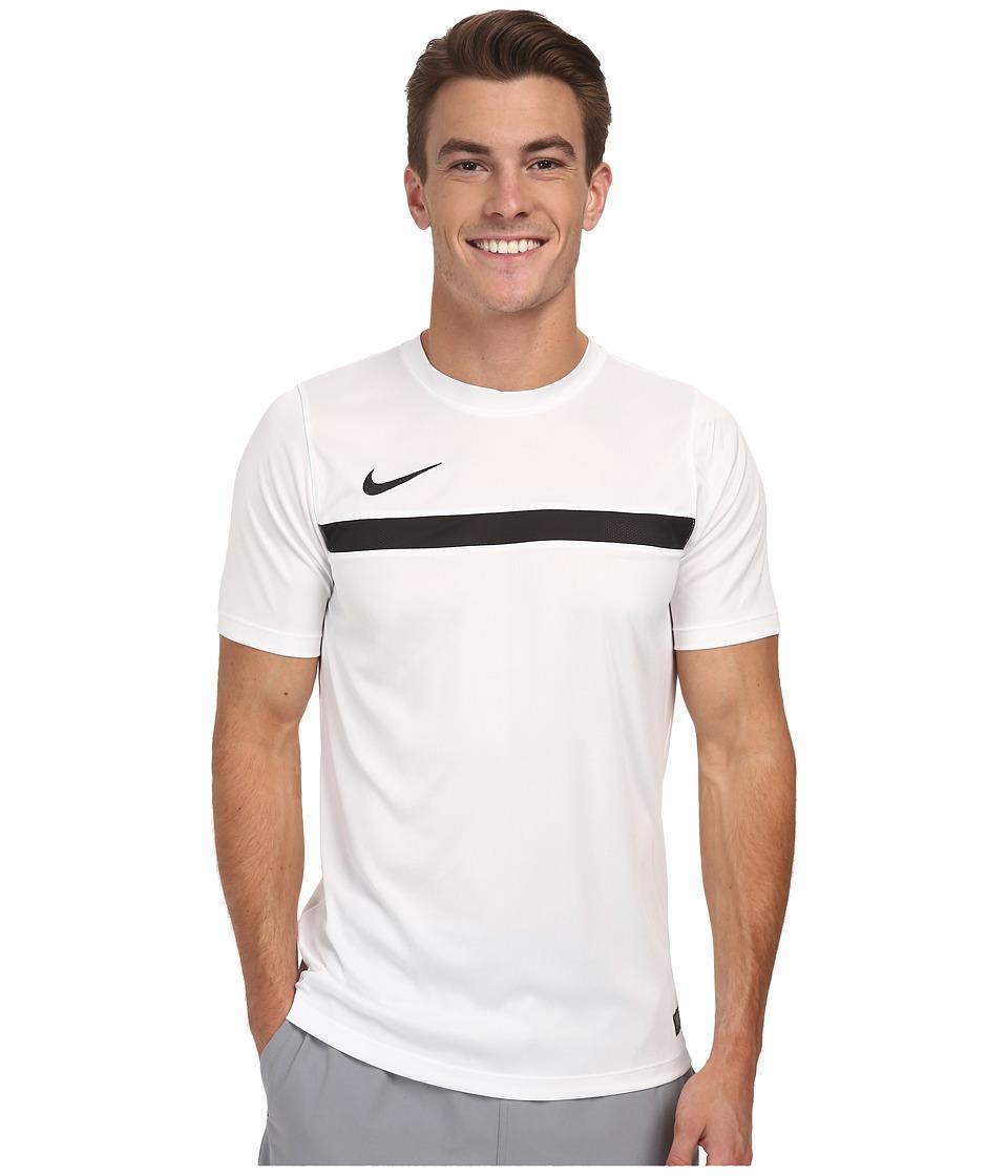 Nike Academy S/S Training Top 1 (White/Black/White/Black) Men