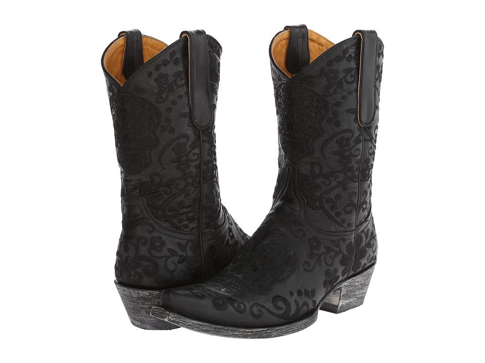 Old Gringo Klak (Black) Cowboy Boots