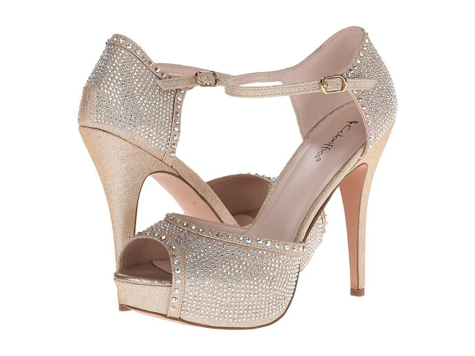 Coloriffics Valentine (Champagne) High Heels