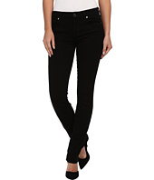 7 For All Mankind - Slim Illusion LUXE Kimmie Straight in Slim Illusion Luxe Black