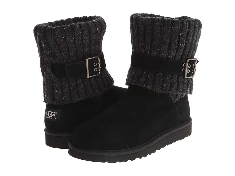 UGG Kids Cambridge Big Kid Black Girls Shoes