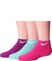 Nike Kids - Lightweight Cotton Cushion Low Cut 3-Pair Pack (Toddler/Little Kid/Big Kid)