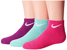 Nike Kids Lightweight Cotton Cushion Quarter 3-Pair Pack