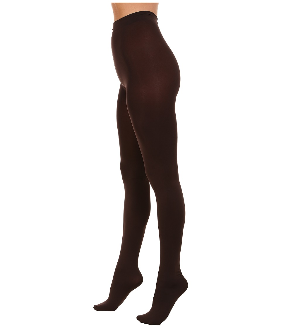 HUE Absolute Opaque Tights Espresso Hose