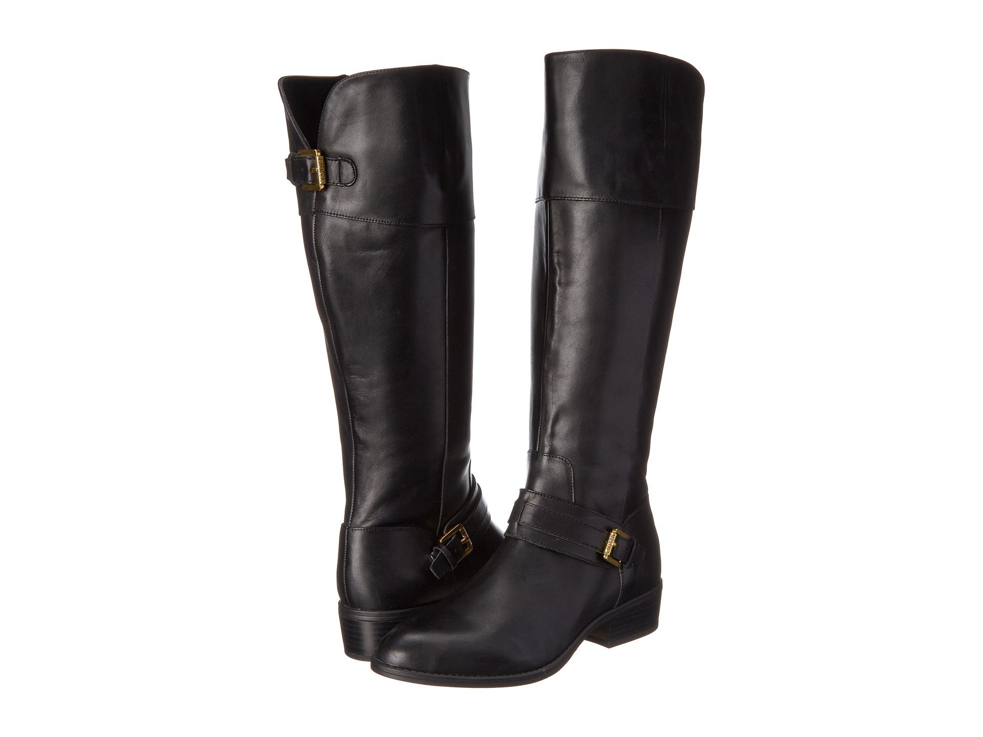 Model  Ralph Lauren Womens Beatrice Black LeatherSuede Over The Knee Boots