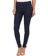 Nicole Miller - Distressed Coated Denim Pant
