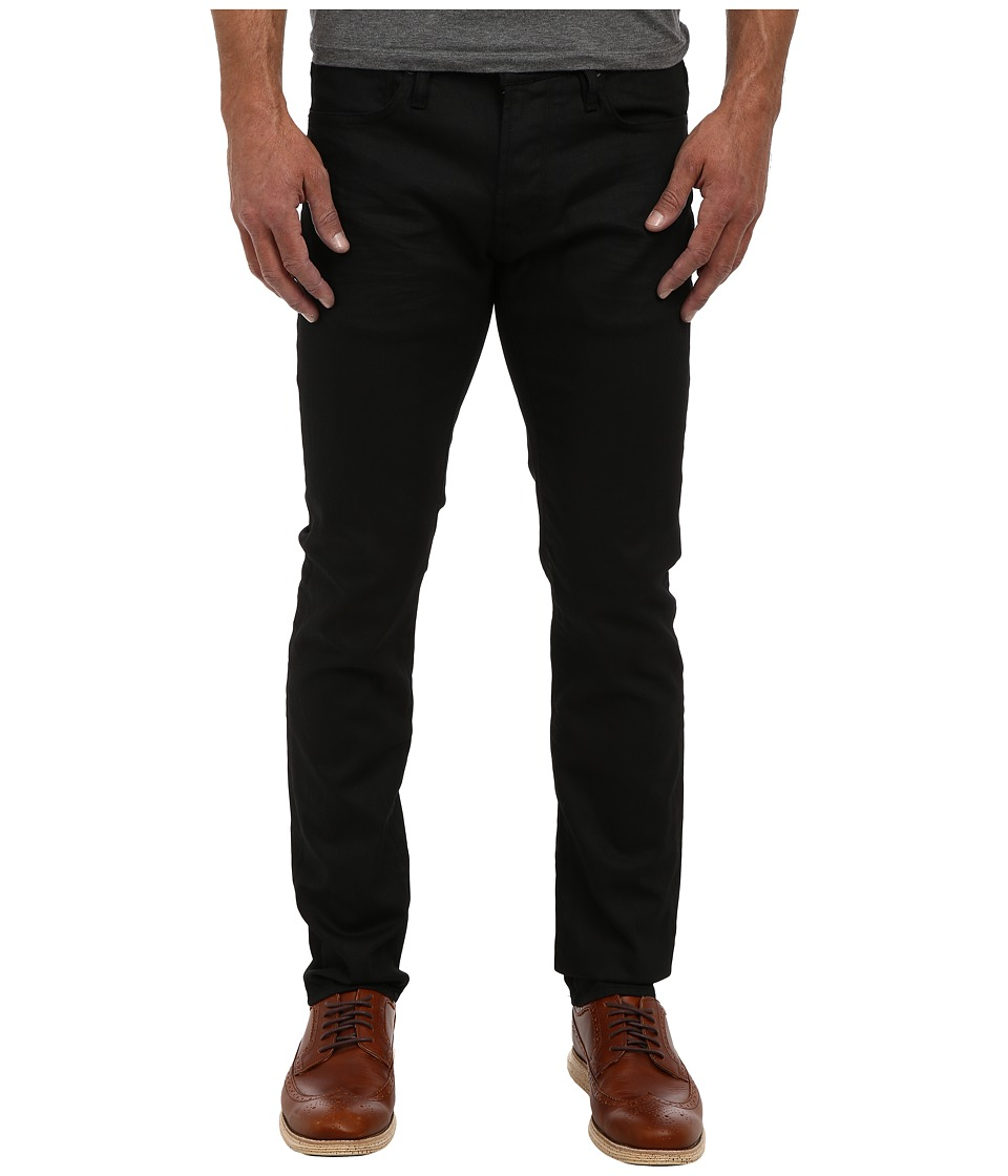 John Varvatos Star U.S.A. - Bowery Fit Jean in Jet Black (Jet Black) Mens Jeans