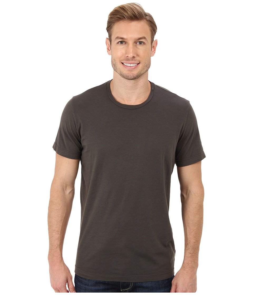 Velvet by Graham amp Spencer Howard S/S Crew Neck Whisper Jersey T Shirt Graphite Mens T Shirt