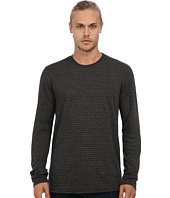 Velvet by Graham & Spencer - Alfie L/S Stripe Double Fold Crew Neck Top