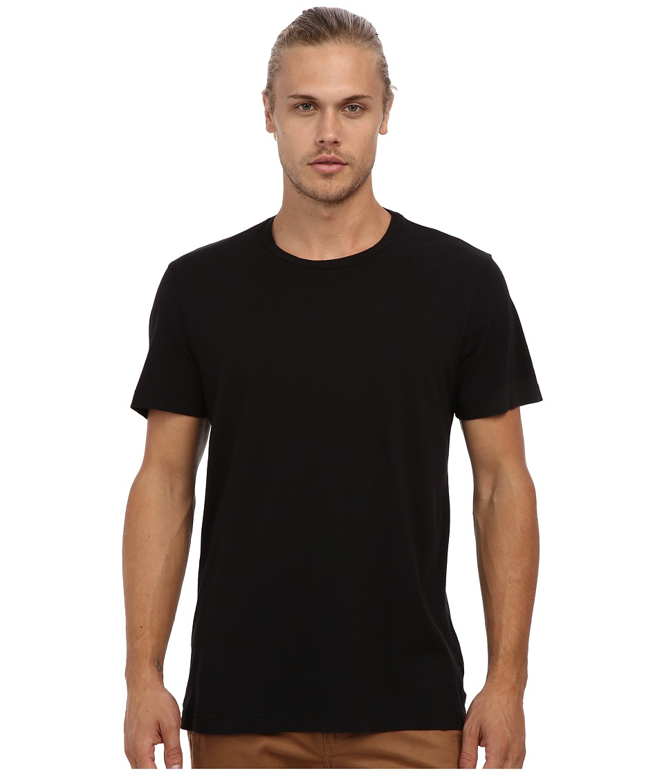 Velvet by Graham amp Spencer Howard S/S Crew Neck Whisper Jersey T Shirt Black Mens T Shirt