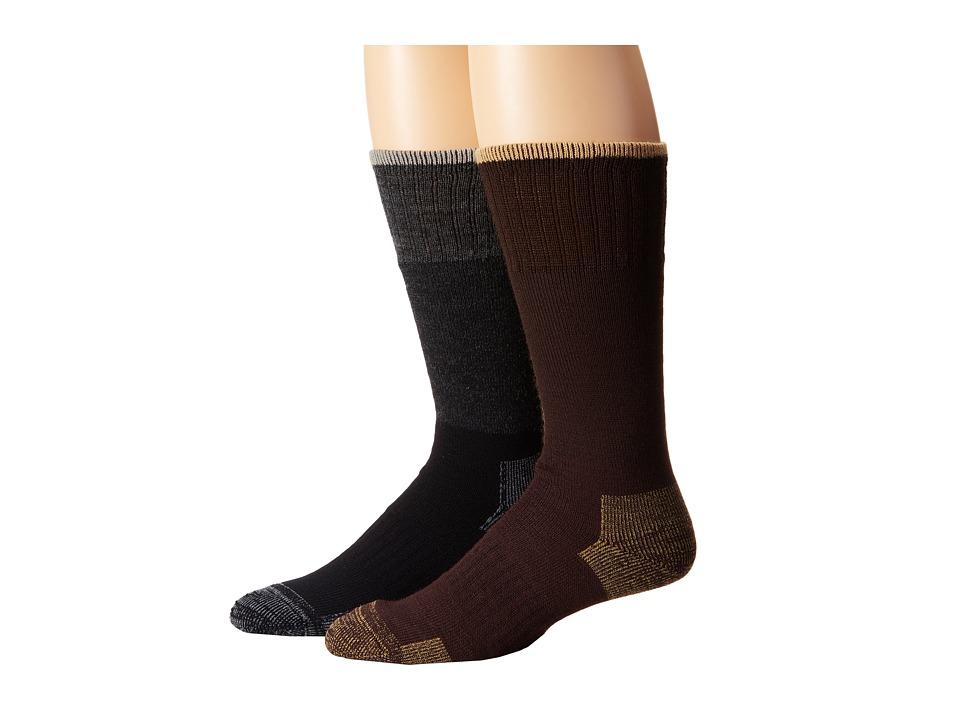 Timberland - TM31004 Merino Wool Boot 2-Pair Pack (Assorted) Men