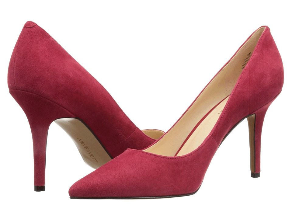 Nine West Jackpot (Red Suede) High Heels
