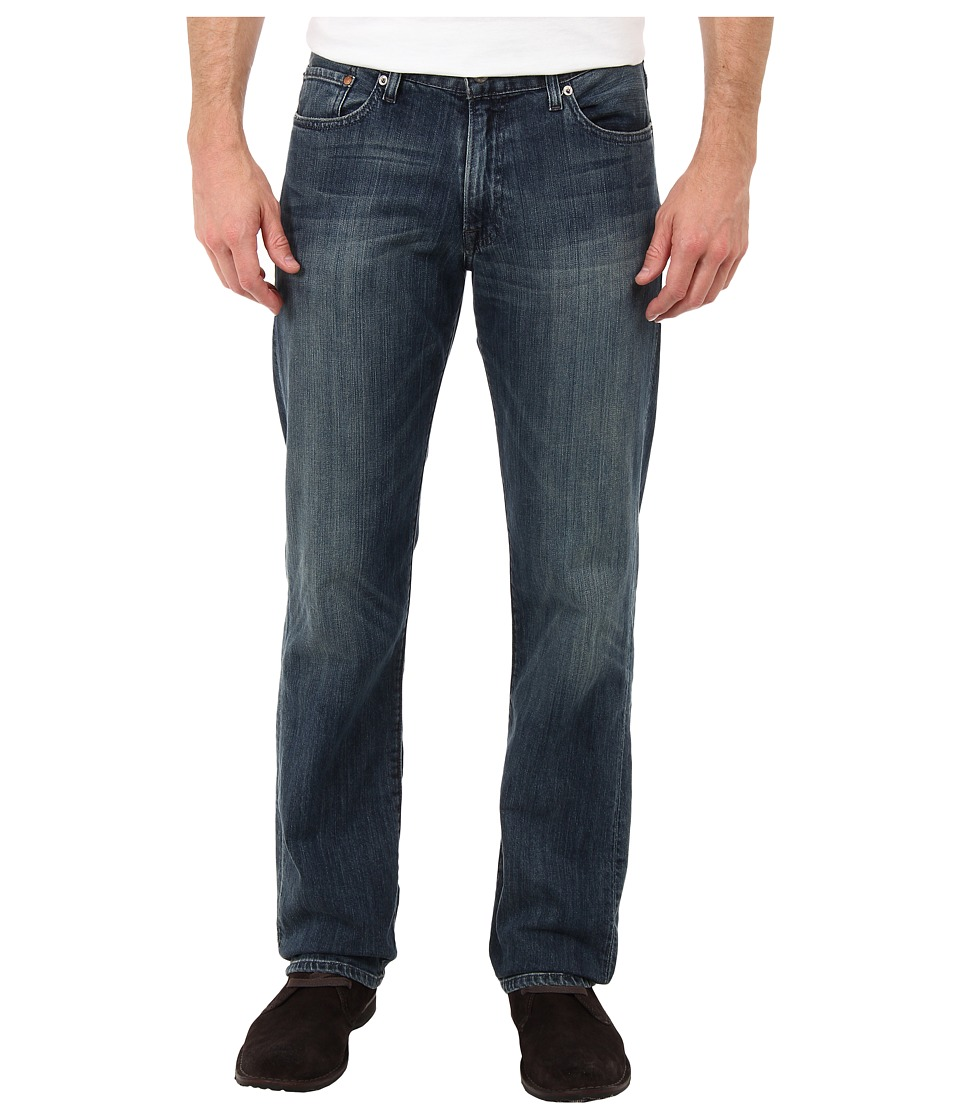 Lucky Brand - 221 Original Straight in Blue Gold