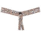 Hanky Panky Plus Size Leopard Nouveau Crotchless Thong