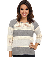 Lucky Brand - Crochet Pullover