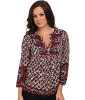 Lucky Brand - Annabelle Mixed Print Top