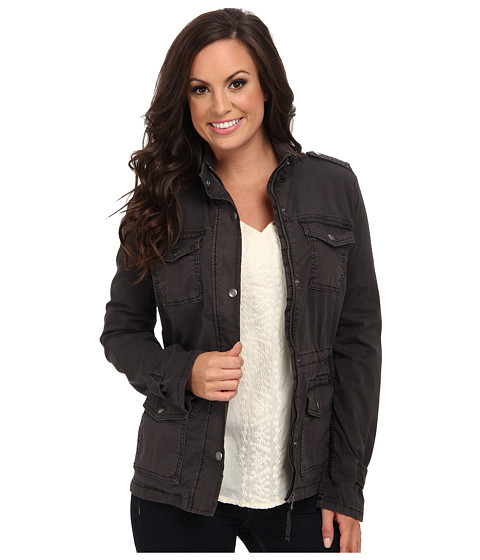Lucky Brand - Piper Military Jacket (Black) - Apparel