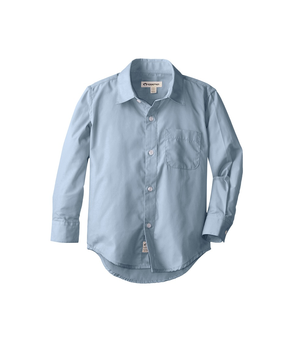 Appaman Kids - The Standard Shirt (Toddler/Little Kids/Big Kids) (Blue) Boys Long Sleeve Button Up