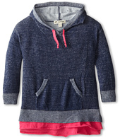 Appaman Kids - Super Soft Willow Ruffle Hoodie Tunic (Toddler/Little Kids/Big Kids)