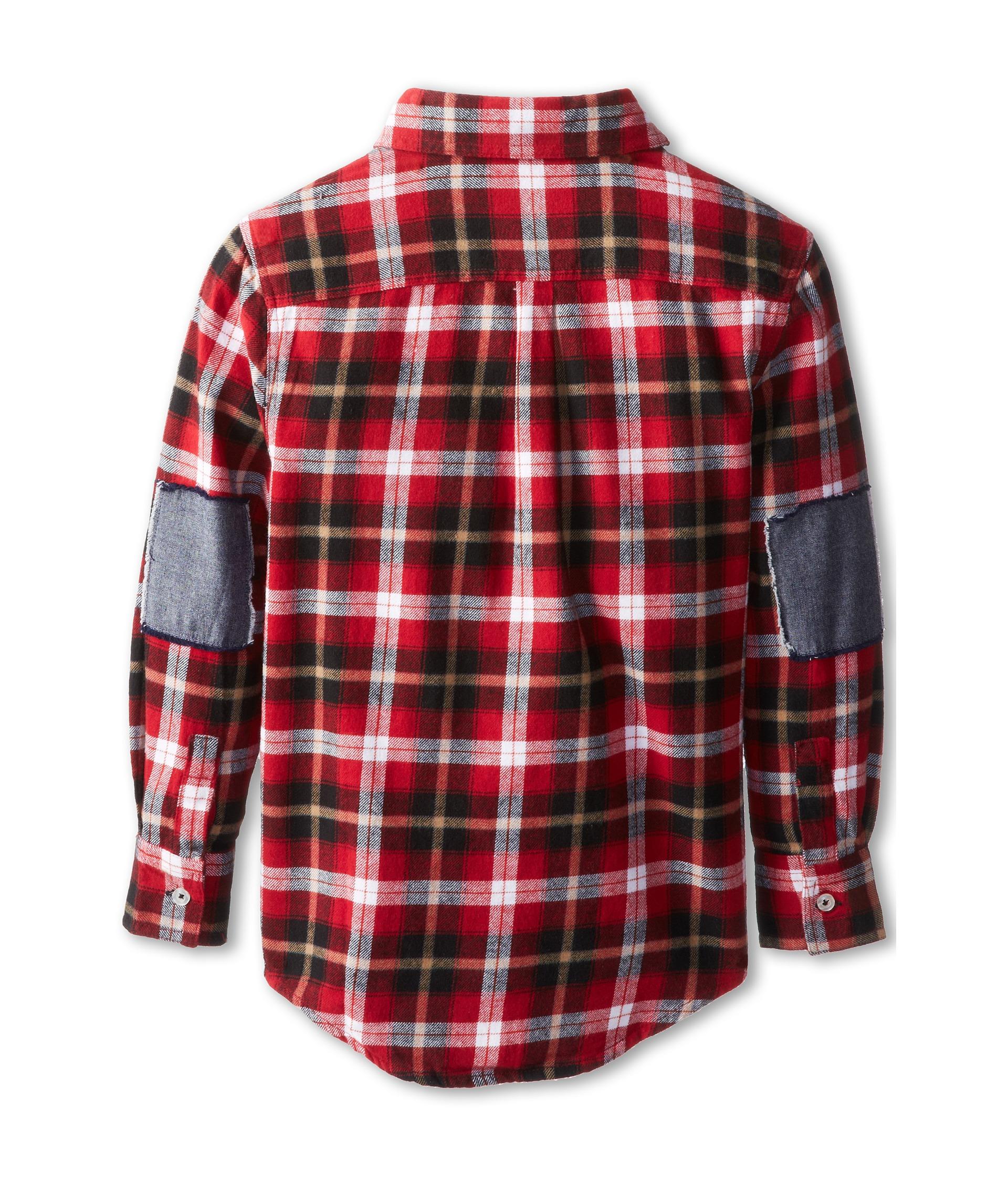 Appaman kids super soft flannel shirt w elbow patches for Mens flannel shirt with elbow patches