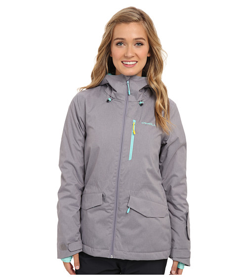 O'Neill Curve Jacket (Black Out) Women's Coat